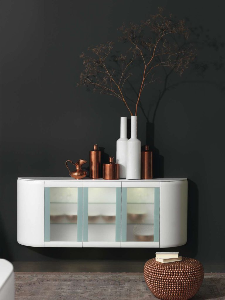 Designer Küche, runde Küche, Kupfer Küche