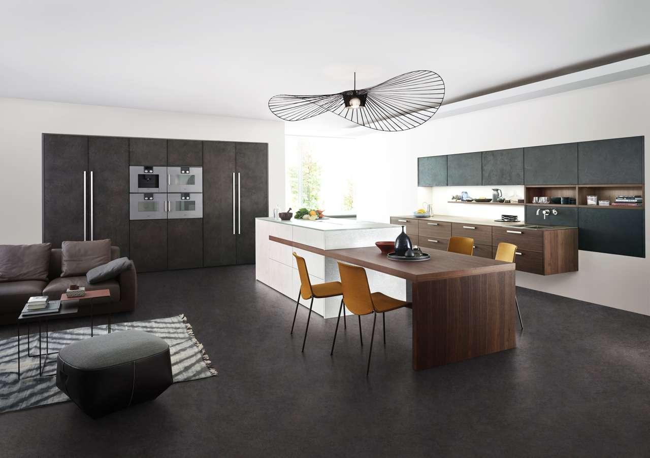 Hervorragend Leicht Küche, Beton Küche, Design Küche, Esstisch In Küche, Integrierter  Esstisch