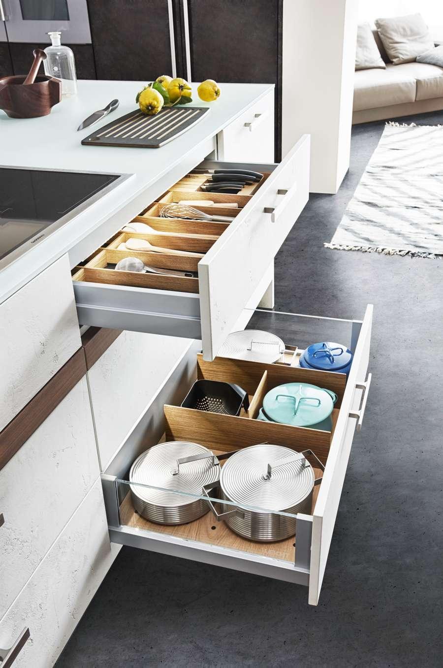 Harmonie von Küche und Wohnraum | Küchen Journal