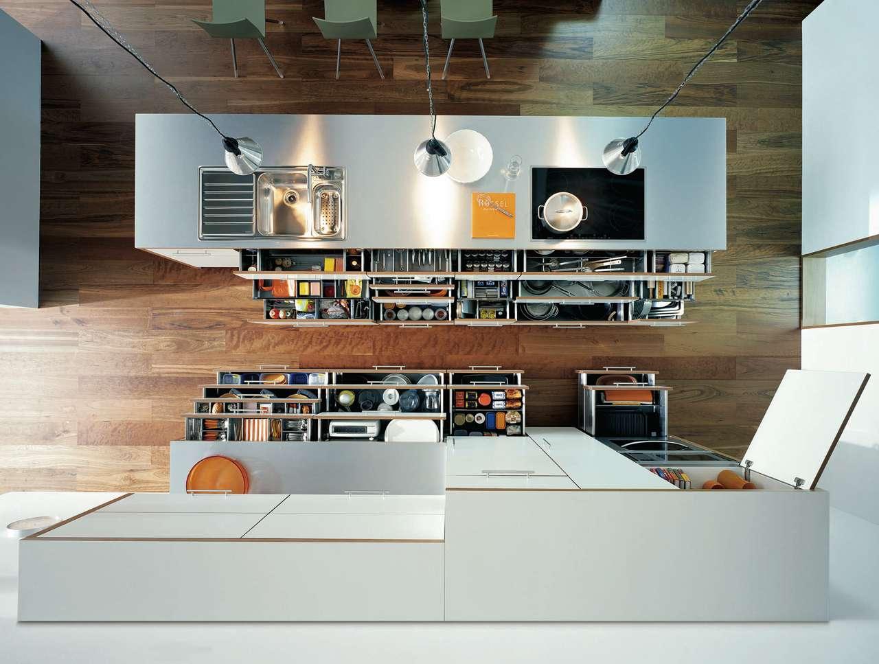 Ergonomische, komfortable Küchenplanung