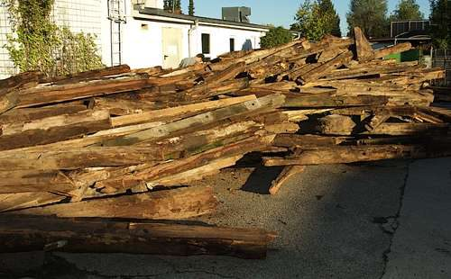 Küche aus Altholz, Küche aus Recycling holz, umweltschutz