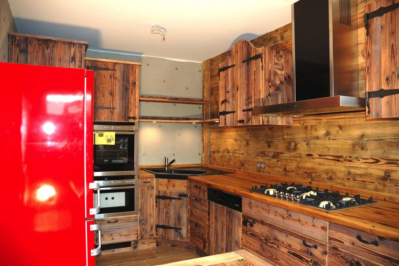 Natur Pur - Küchen aus Altholz | Küchen Journal