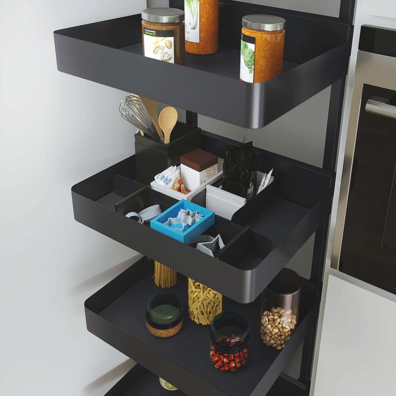 kleine k che gro er effekt k chen journal. Black Bedroom Furniture Sets. Home Design Ideas