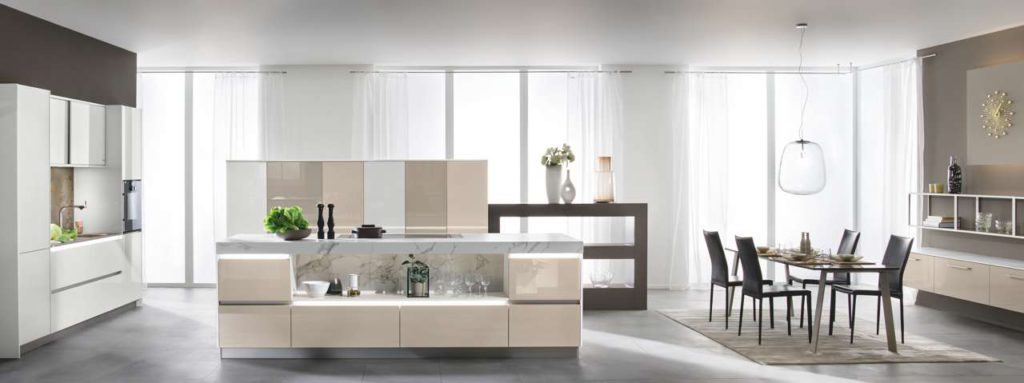smart glas modern und gem tlich k chen journal. Black Bedroom Furniture Sets. Home Design Ideas