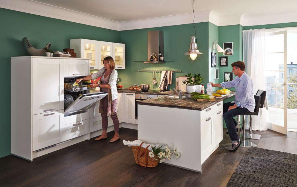 ergonomisch angepasste arbeitsh he k chen journal. Black Bedroom Furniture Sets. Home Design Ideas