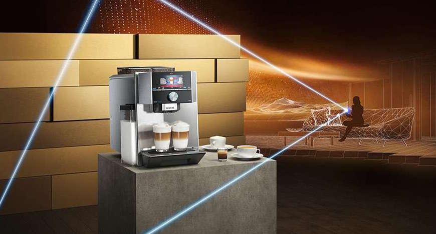 Kaffeevollautomaten EQ.9 connect, Siemens, Kaffeeautomat, Kaffeemaschine, leckerer Kaffee, guter Kaffee