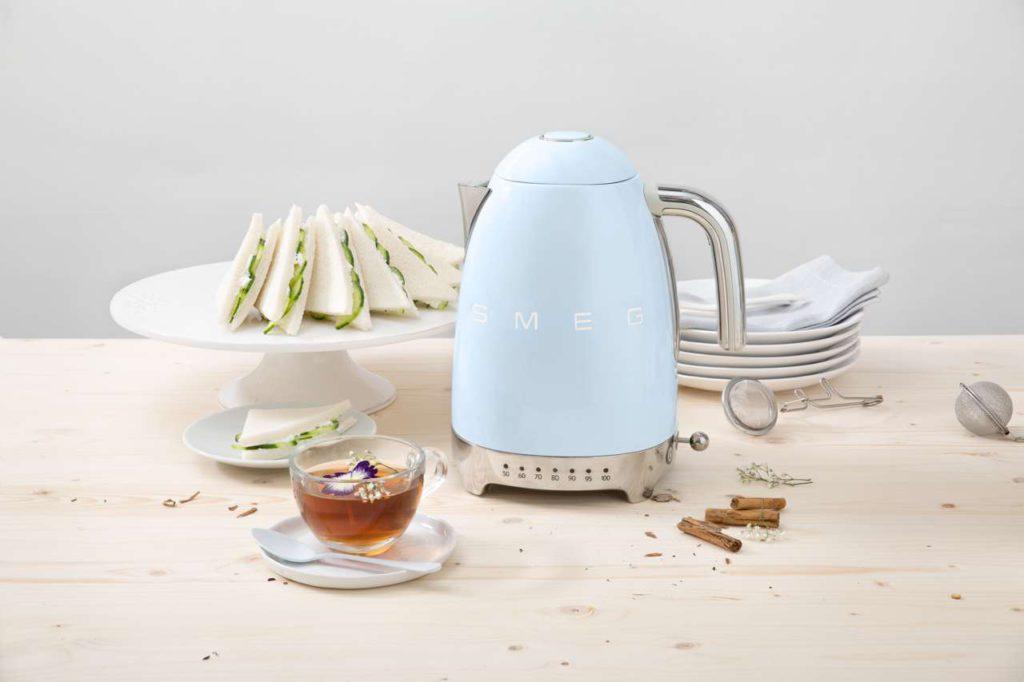 Wasserkocher, Toaster, Smeg, Design wasserkocher, design Toaster