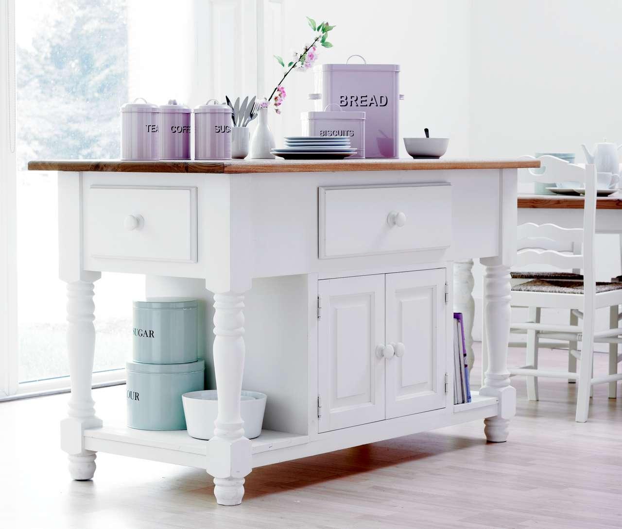 22 Kücheninsel Mit Tisch Modelle: Praktisch Und Schön: Landhaus Kücheninsel Evir