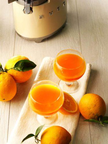 Smeg Slow Juicer, gesund entsaften, schöner Entsafter, guter entsafter