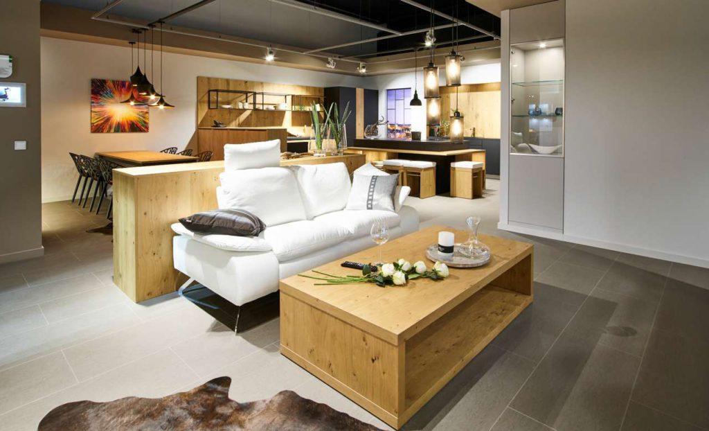 Apartment Sachsenküchen, Wohnbereich. Foto: Sachsenküche