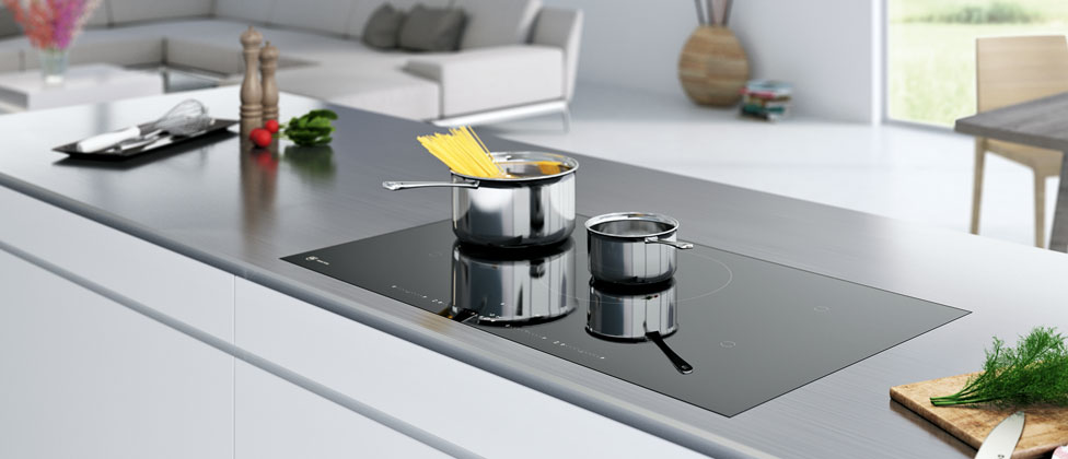Kochfeld mit OptiGlass: besonders robust dank einer harten Beschichtung. Foto: V-ZUG