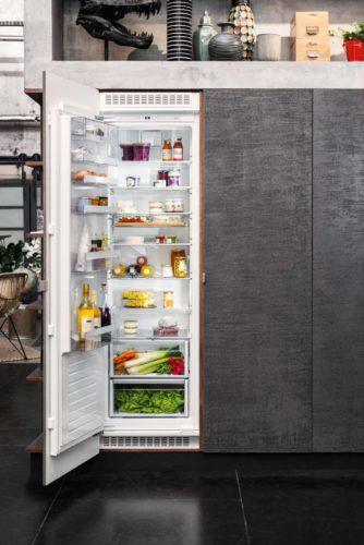 Kühlschränke der NEFF GourmetLine: effektive Platz-Nutzung, tolles Design. Foto: NEFF