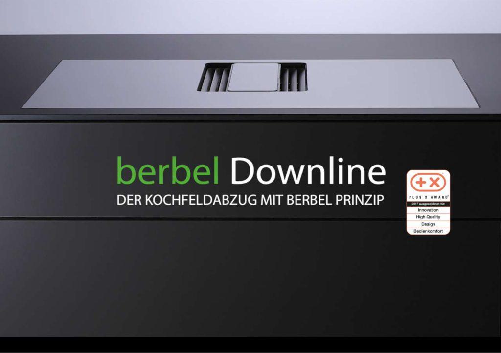 berbel Downline - bereits zur Einführung mit dem Plus X Award 2017 ausgezeichnet. Foto: berbel