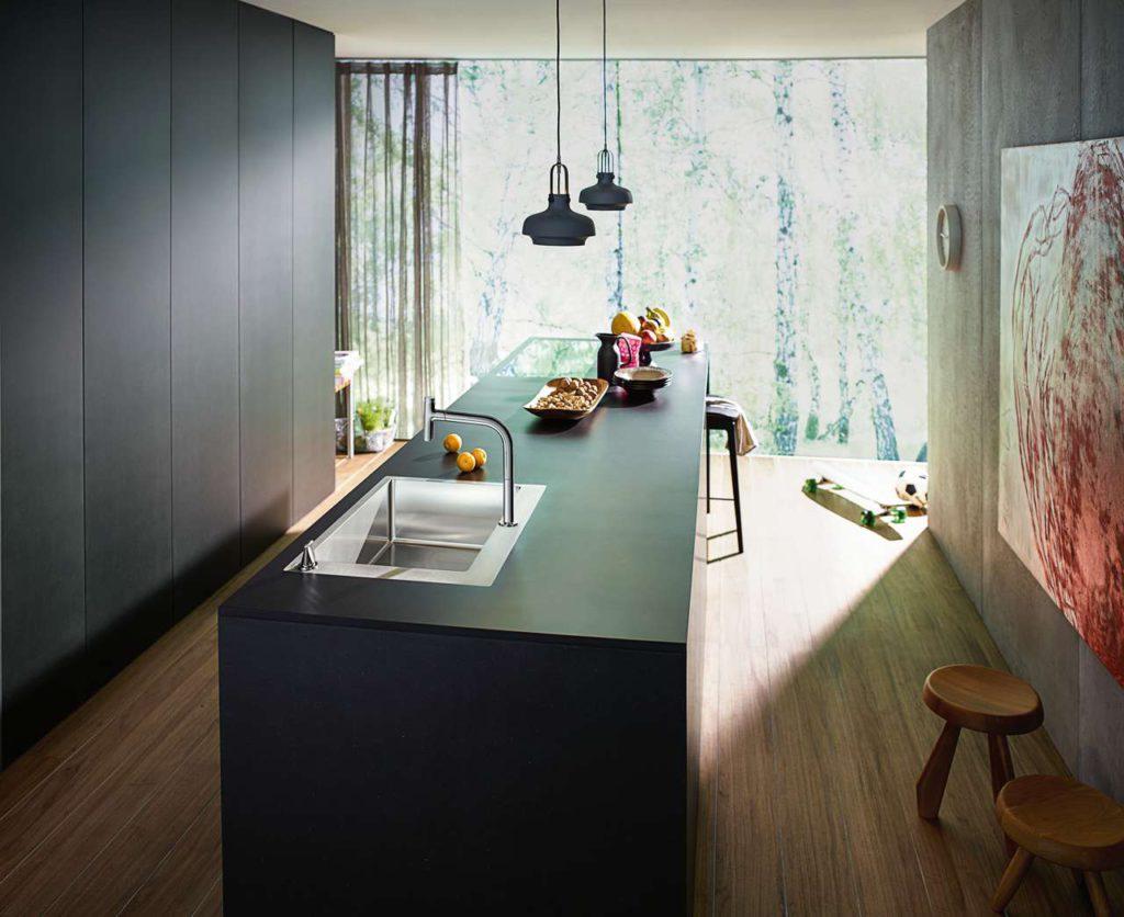 hansgrohe Kitchen SinkCombi_C71F65508_Ambience.Foto: ©hansgrohe/Hansgrohe SE