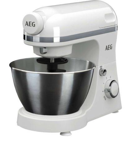 Genuss für den Alltag und schickes Design für die Küche: die 3Series KM 3200 Küchenmaschine von AEG. Foto: AEG