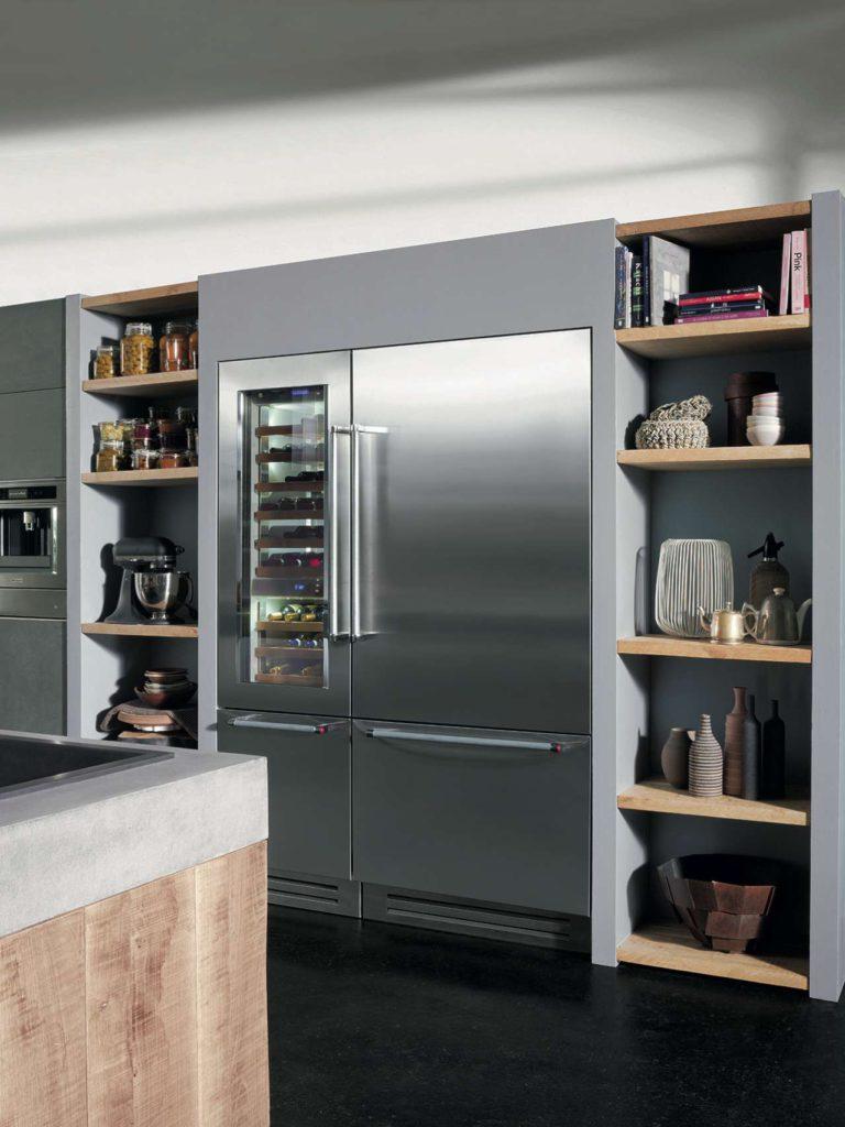 Vertigo ist ein flexibles Kühlsystem, das dank fortschrittlicher Technologien professionelle Leistung garantiert. Foto: KitchenAid