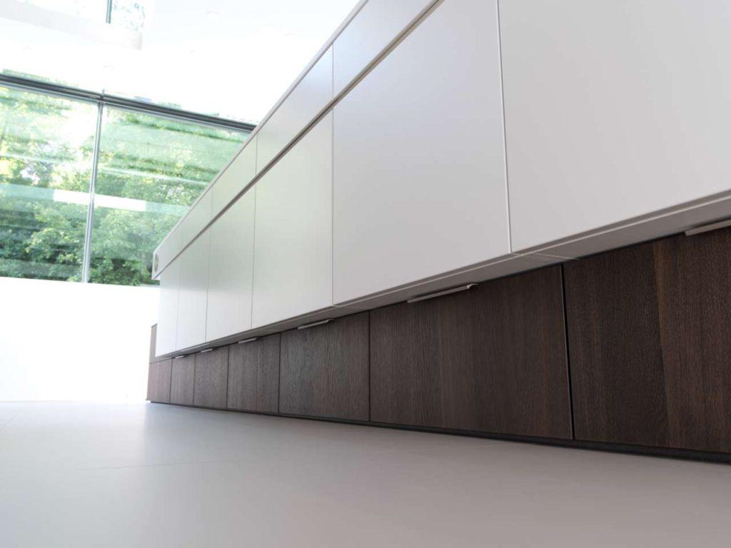 Sockellose Küchenplanung. Foto: Rempp Küchen