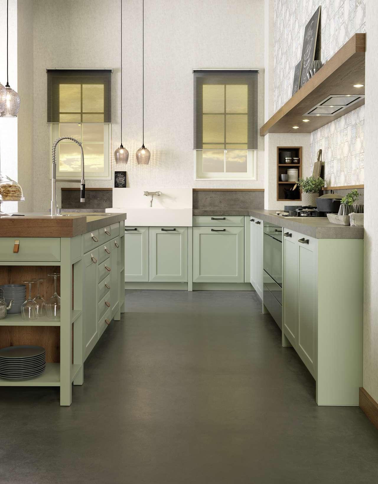 chalet trifft green tea k chen journal. Black Bedroom Furniture Sets. Home Design Ideas