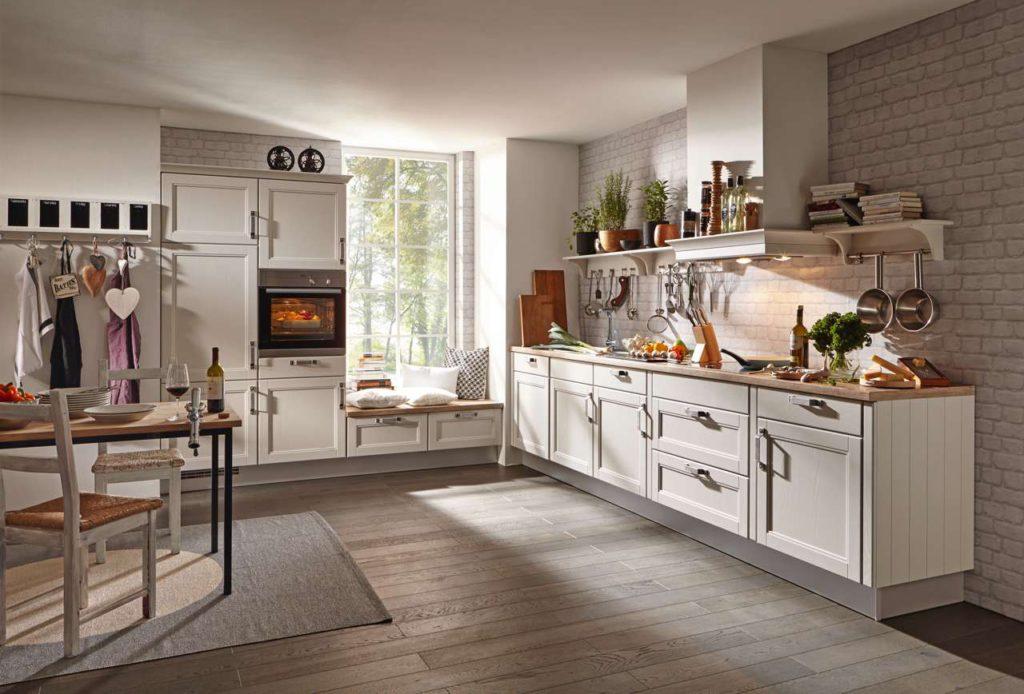 Der Landhausstil ist zeitlos und facettenreich und bietet Gestaltungsmöglichkeiten für jeden Geschmack. Foto: djd/KüchenTreff GmbH & Co. KG