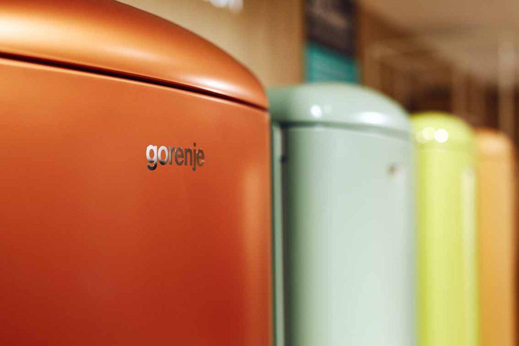 14 verschiedenen Farben machen jeden Kühlschrank zum Blickfang. Foto: Gorenje