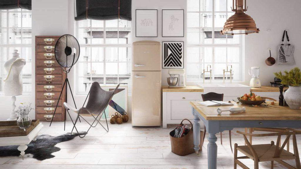 Die Kühlschrank-Klassiker der Gorenje Retro Collection bieten vereint das Beste aus Vergangenheit und Zukunft – nostalgisches Retro-Design von außen und neueste Technologie von innen. Foto: Gorenje