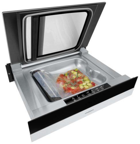Der Vakuumierer ist perfekt zum Portionieren von Speisen und ideal zum Konservieren von Lebensmitteln.Foto: Oranier