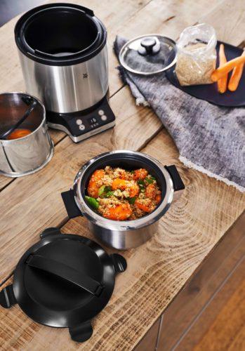 WMF KÜCHENminis® Reiskocher mit Lunch-to-go-Box. Foto: WMF