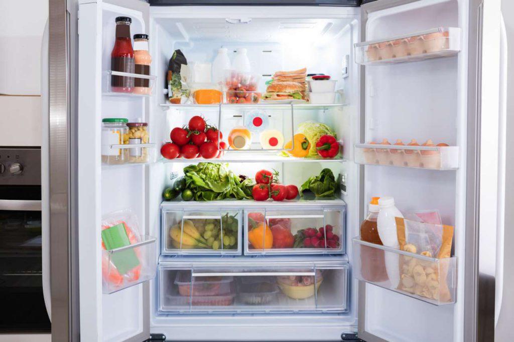 gefüllter Kühlschrank, wie befülle ich meinen Kühlschrank