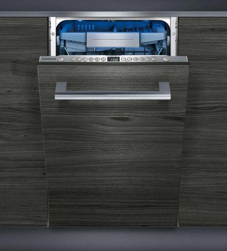 Die neuen 45er Spülmaschinen bieten verschiedenste Möglichkeiten: Mit der varioSpeed Plus Zeitverkürzungsoption laufen alle regulären Programme bis zu 66 % schneller ab. Foto: Siemens