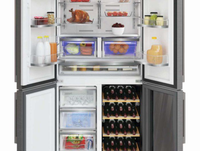 Side By Side Kühlschrank In Wand Einbauen : Weinkühler küchen journal
