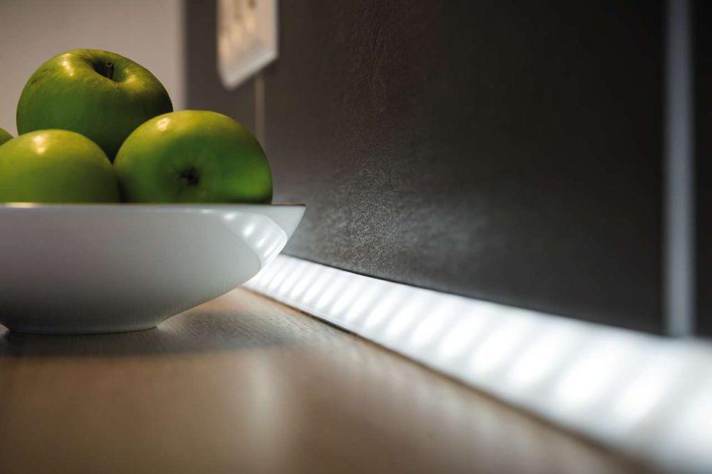 LED-Stripes sorgen für tolle Effekte. Foto: Paulmann Licht