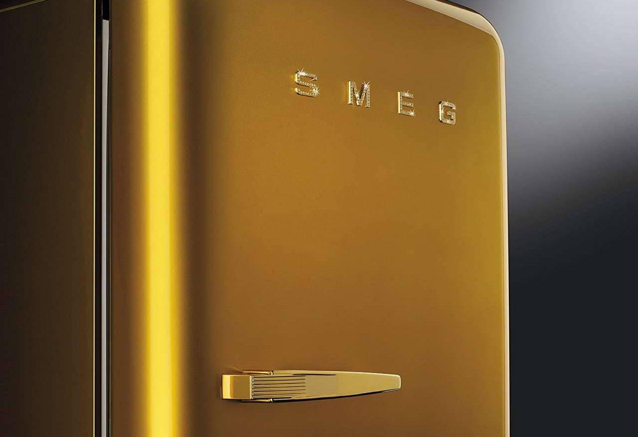 Smeg Kühlschrank Und Gefrierschrank : Cool mit bling bling küchen journal