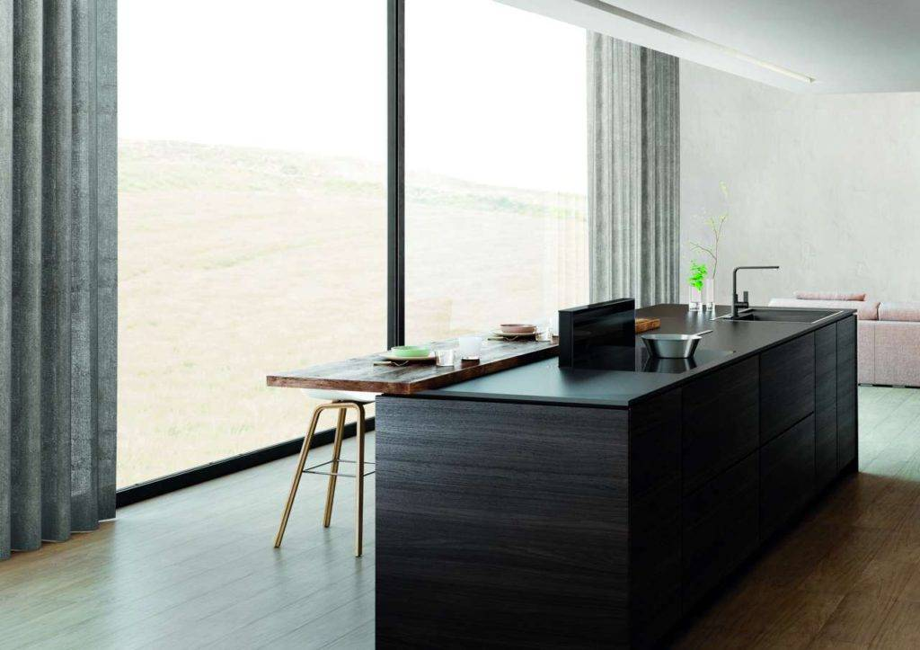 Ihr gradliniges, zeitloses Design passt in jede Küche. Foto: Novy