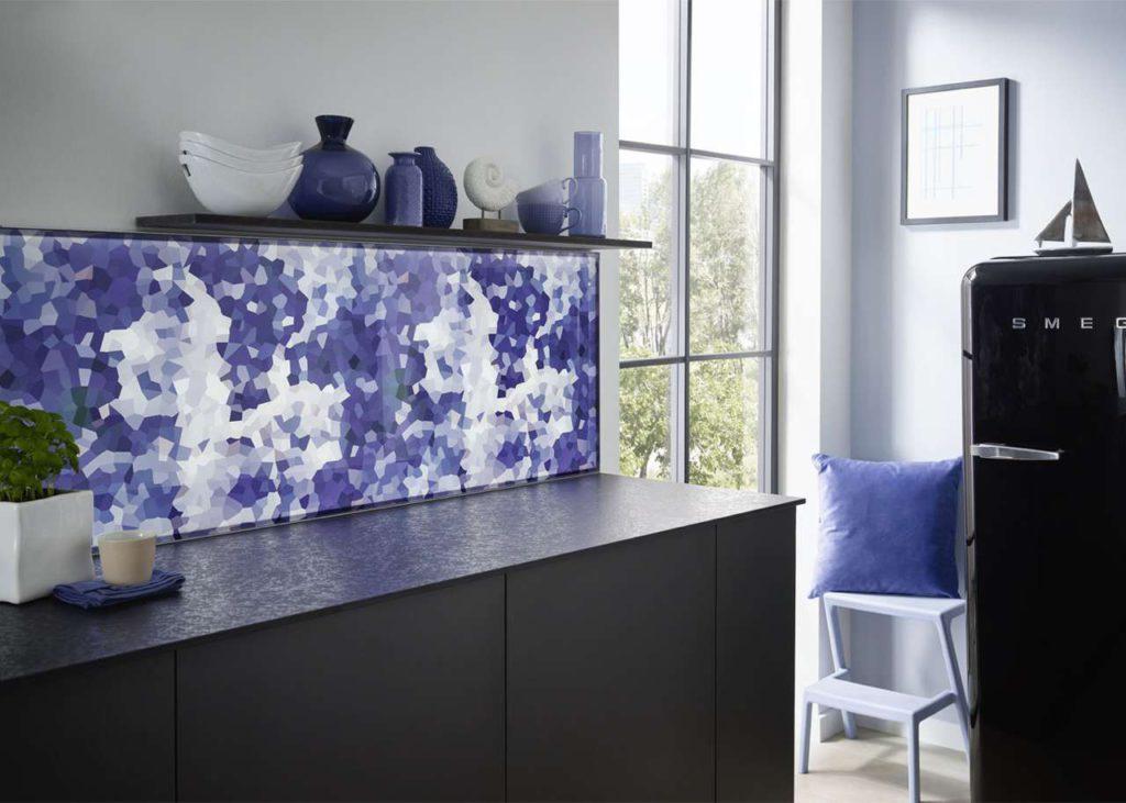 Die Küchenrückwand Switchy von Lechner lässt sich nach Lust und Laune austauschen.