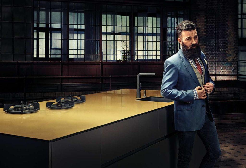 Typische Männerküche: Funktional und ohne Schnick-Schnack. Foto: AMK