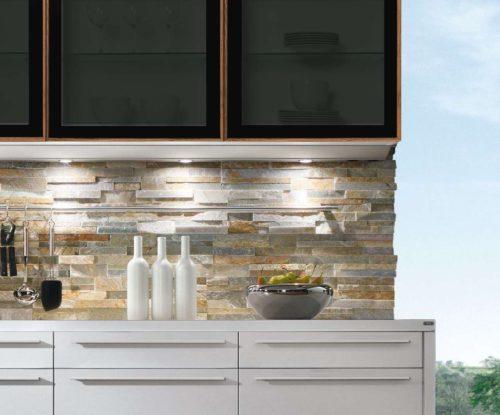 Lichtsystem in der ewe Küche Nuova. Foto: ewe