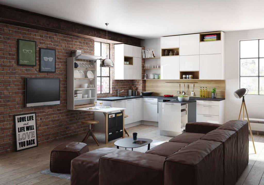 Das Küchen Raumwunder Nuova bietet ein attraktives Äußeres und viele praktische und funktionelle Features. Foto: ewe