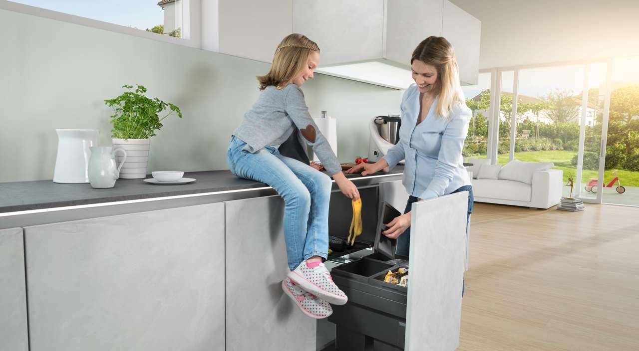 Mehr Komfort bei der Abfalltrennung – Küchen Journal