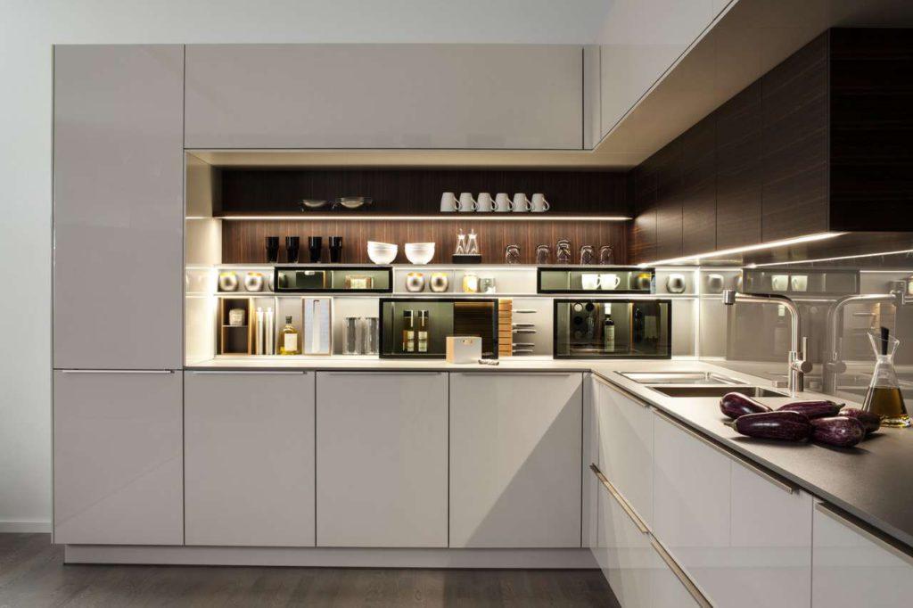 Warendorf Küche mit Lichtinszenierung