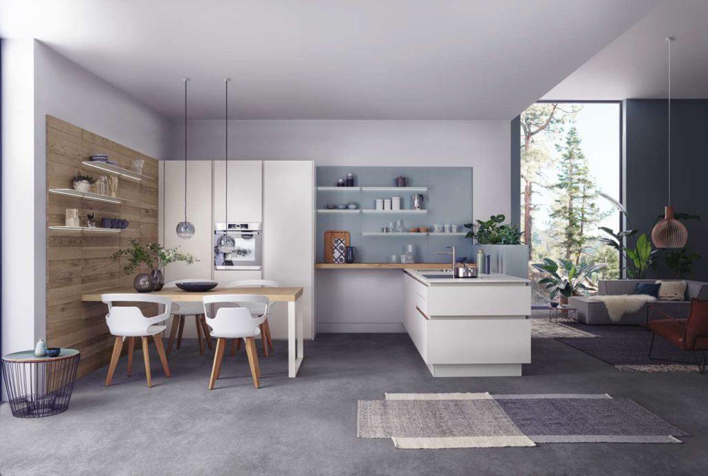Zeitlose Eleganz, wohnliche Wärme und handwerkliche Perfektion charakterisieren das neue LEICHT Programm Solid. Foto: LEICHT / P. Schumacher