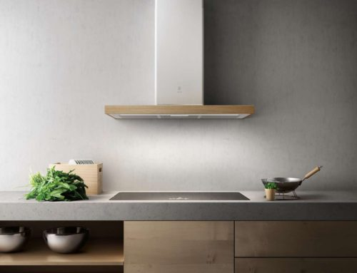 Bio ist die neue Elica-Haube mit traditionellem und gleichzeitig innovativem Design.Design Fabrizio Crisà. Foto: Elica