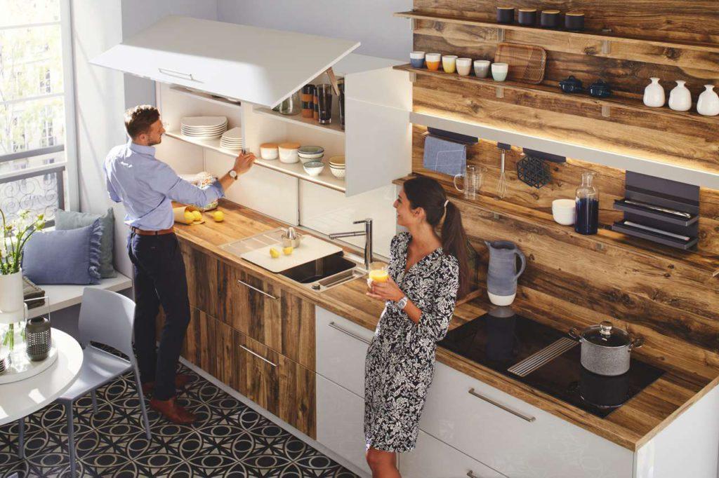 Kleine Küche – einfallsreich geplant