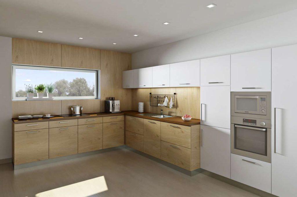 Durch die Vielfalt der verschiedenen Oberflächenmaterialien und Profile kann nahezu jede Küchenfront nach dem individuellen Geschmack neu und preisgünstig gestaltet werden. Foto: djd/www.beptum.de