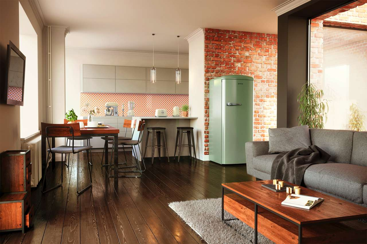 Retro Kühlschrank Pastellgrün : Gorenje retro kühlschrank