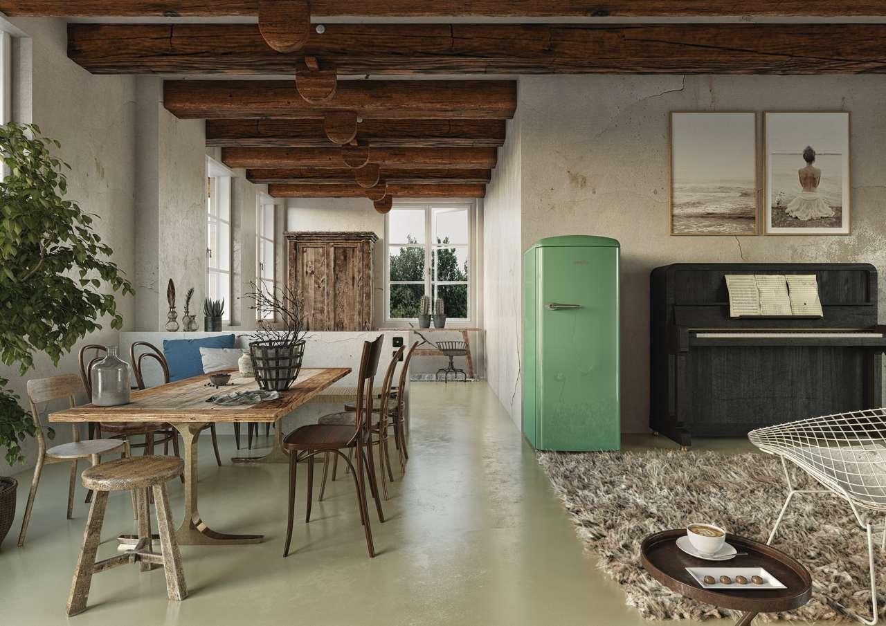 Kühlschrank Vintage Design : Gorenje retrocollection olive u2013 küchen journal