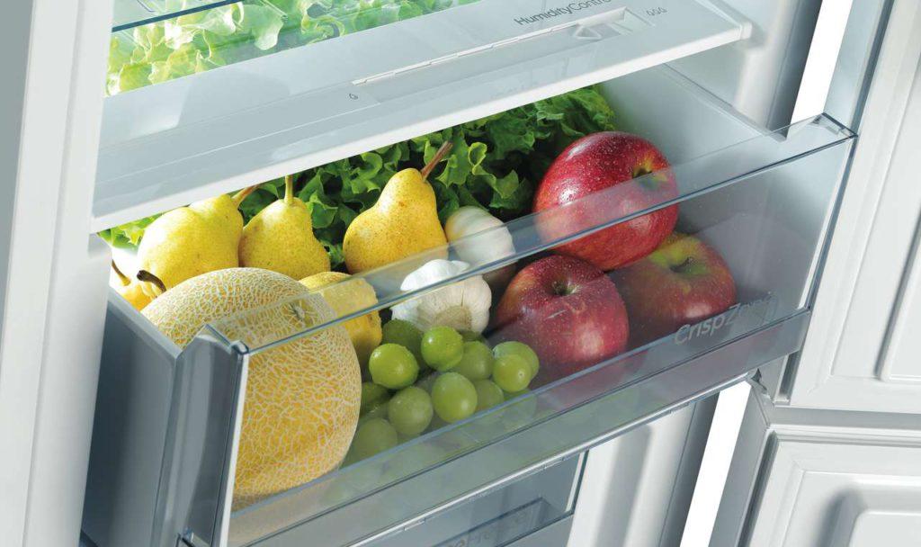 Vitaminkick und extra Frische: die neuen Einbau-Kühl- und Gefriergeräte. Foto: Gorenje