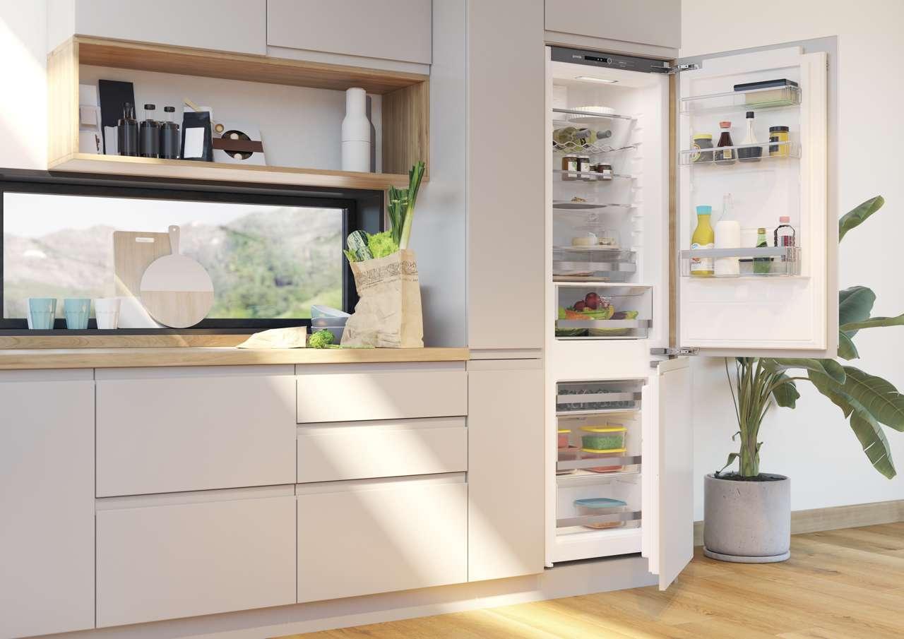 Gorenje Kühlschrank Crispzone : Einbaukühlschrank gorenje ri e weiß cm hoch bei
