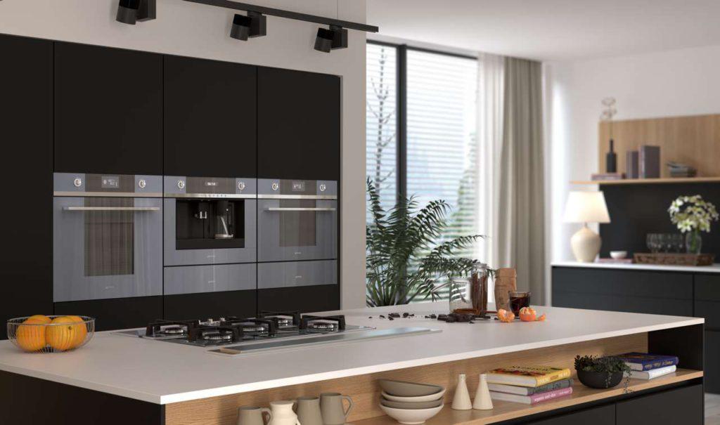 Die eleganten Küchengeräte der neuen Linea Generation überraschen mit einer Vielzahl fein durchdachter und hochwertig ausgeführter Modifikationen. Foto: Sieg