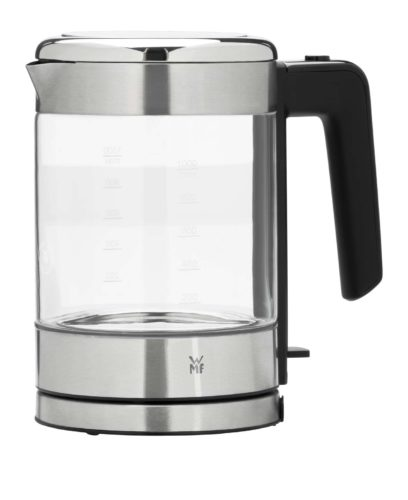 Ein echter Hingucker: Der neue stylische Glaswasserkocher aus der WMF KÜCHENminis® Serie. Foto: WMF