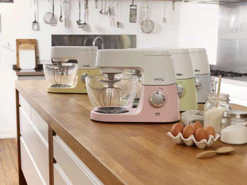 Die limitierte Kenwood Chef Sense Colour Collection. Foto: Kenwood